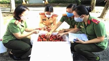 Đồng Nai kết nối tiêu thụ 110 tấn vải thiều Bắc Giang