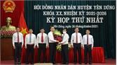 Bí thư Huyện ủy Yên Dũng Thạch Văn Chung được bầu giữ chức Chủ tịch HĐND huyện