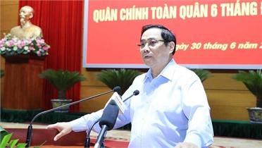 Thủ tướng Phạm Minh Chính: Quân đội đóng góp tích cực vào thành tựu của đất nước