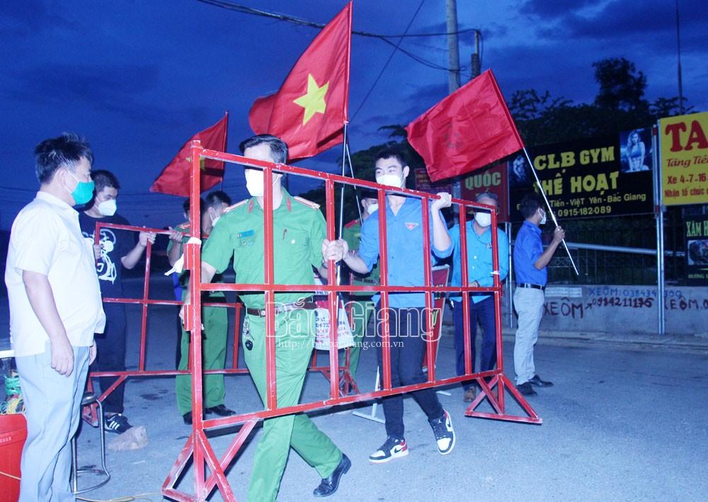 Bắc Giang, việt yên, covid, phòng, chống dịch