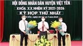 Đồng chí Nguyễn Đại Lượng được bầu giữ chức Chủ tịch HĐND huyện Việt Yên