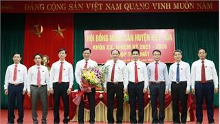 Hiệp Hòa: Bầu các chức danh chủ chốt HĐND, UBND huyện