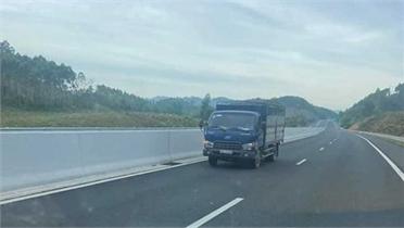 Phạt 17 triệu đồng lái xe đi ngược chiều cao tốc Bắc Giang - Lạng Sơn