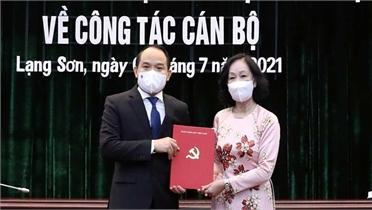 Đồng chí Nguyễn Quốc Đoàn giữ chức Bí thư Tỉnh ủy Lạng Sơn