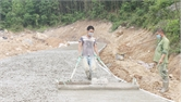 Sơn Động thực hiện các dự án đầu tư xây dựng: Tăng ca bù tiến độ