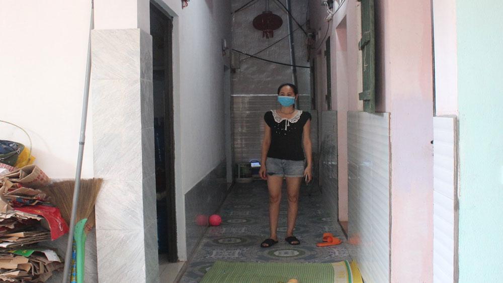 nhà trọ, công nhân, Covid-19, Bắc Giang,  Việt Yên, khu công nghiệp