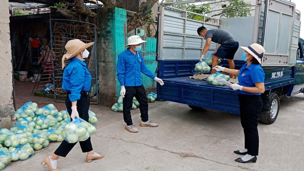 cấp ủy, đảng viên, chống dịch, Bắc Giang, Yên Dũng