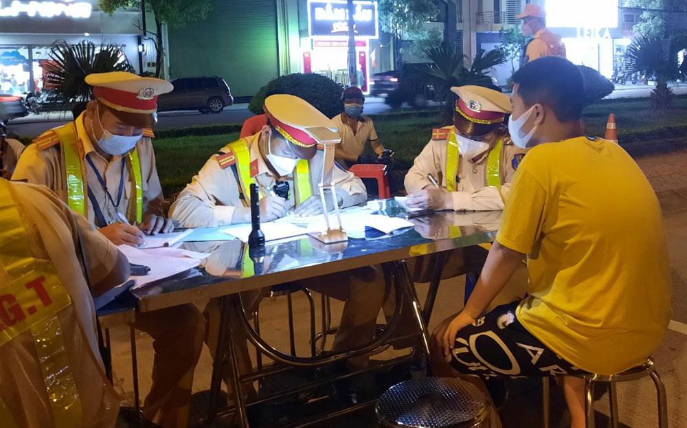 TP Bắc Giang, Bắc Giang, đua xe, an toàn giao thông