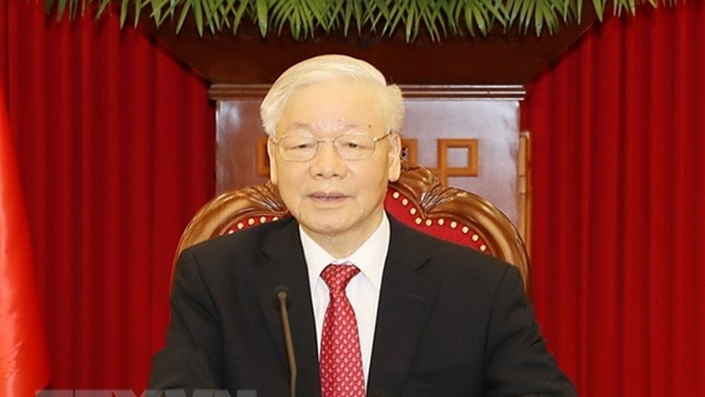 Vietnam Communist Party chief, China, world parties summit, Party General Secretary Nguyen Phu Trong, multilateral diplomatic event