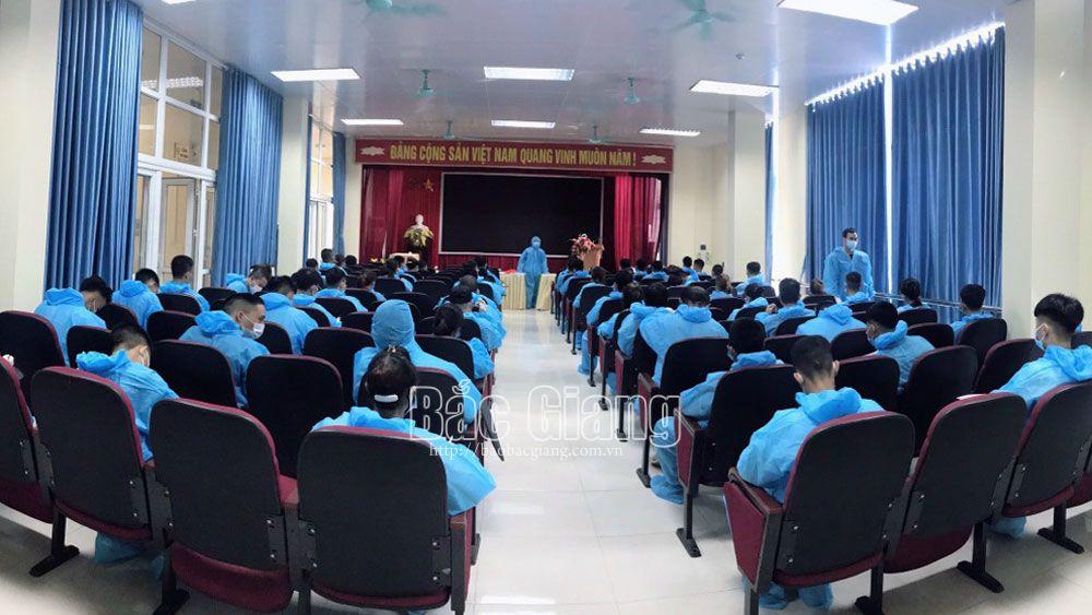 Bac Giang province, supports enterprises, employ labours, job transaction session, industrial park, Covid-19 pandemic, Job Service Center