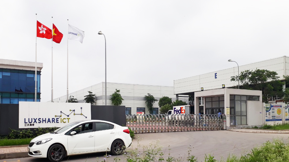 Luxshare-ICT Vietnam, Bac Giang province, wrist-watches, industrial park, total investment, construction project, production factory