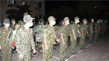 Bắc Giang: 555 thí sinh đăng ký xét tuyển vào các học viện, trường quân sự