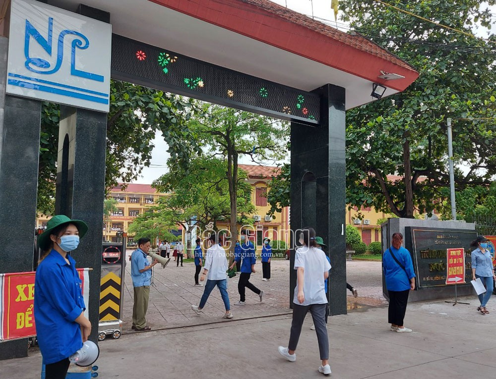 Over 18,000 students, Bac Giang students, Bac Giang province, high school graduation exam, Covid-19 pandemic