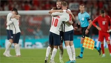 Anh hạ Đan Mạch để gặp Italy tại chung kết EURO 2020