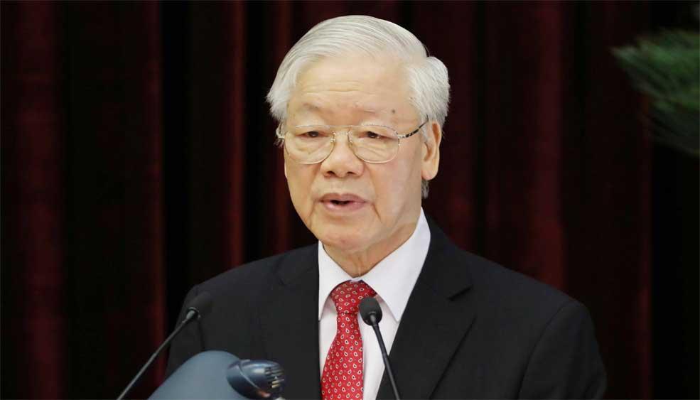 Tổng Bí thư Nguyễn Phú Trọng, Nêu cao, trách nhiệm, gương mẫu đi đầu, Nghị quyết Đại hội XIII của Đảng