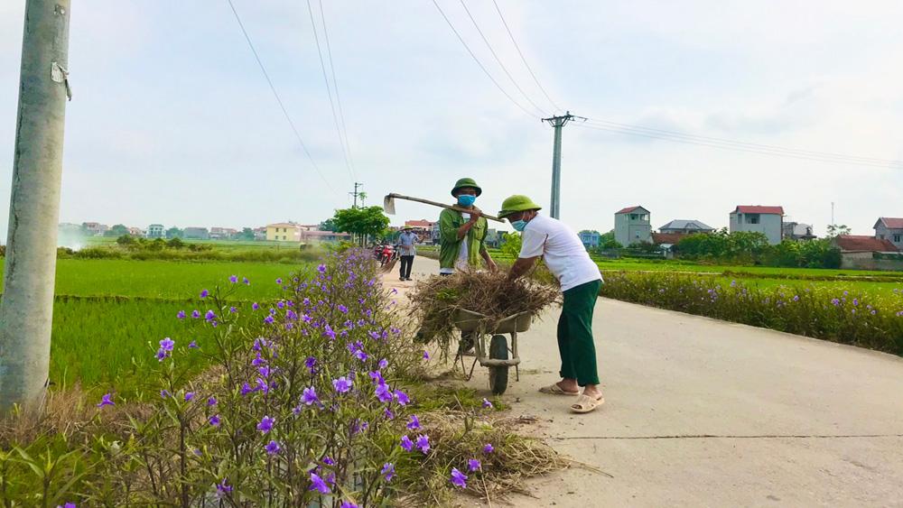 rác thải, xử lý rác, thu gom rác, Bắc Giang, Hiệp Hòa
