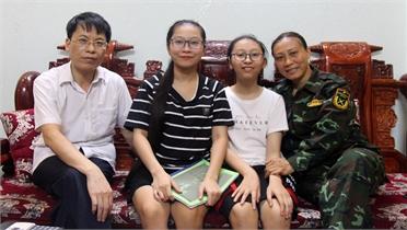 Hạnh phúc ở những gia đình quân nhân