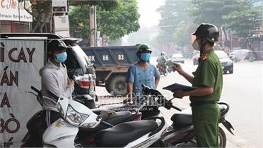 Bắc Giang: Tập trung cao kiểm soát người về từ TP Hồ Chí Minh