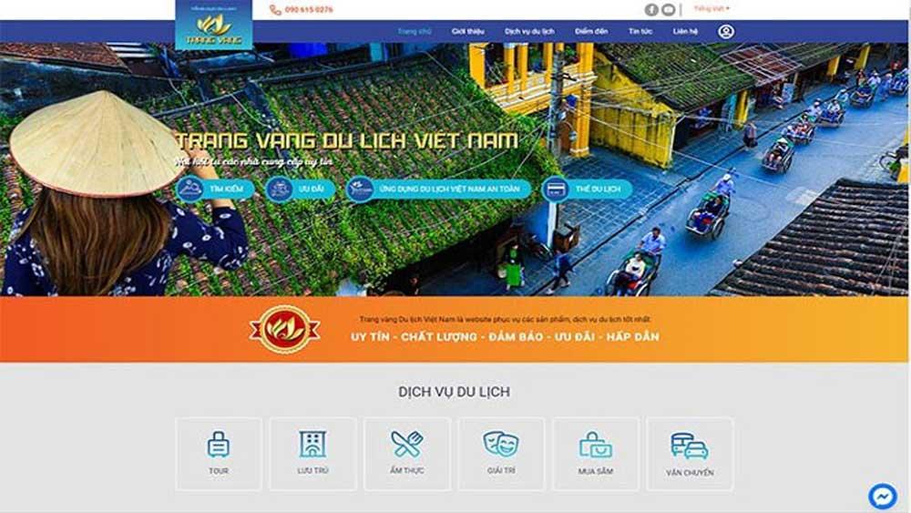 Khởi động dự án ''Trang vàng du lịch Việt Nam''