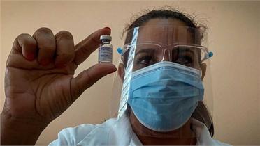 Cuba cấp phép sử dụng khẩn cấp vaccine phòng Covid-19 nội địa