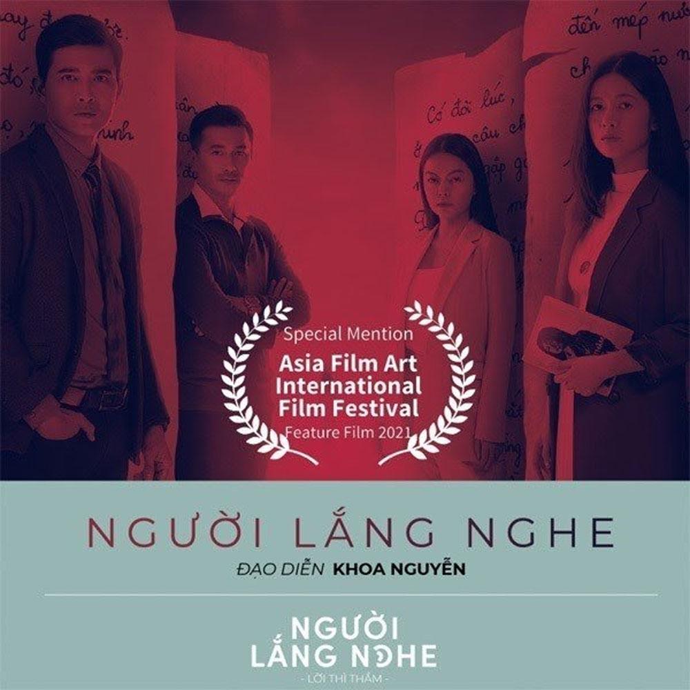 Vietnam's horror film, three awards, Asian film art festival, Listeners-The Whispering, young female writer
