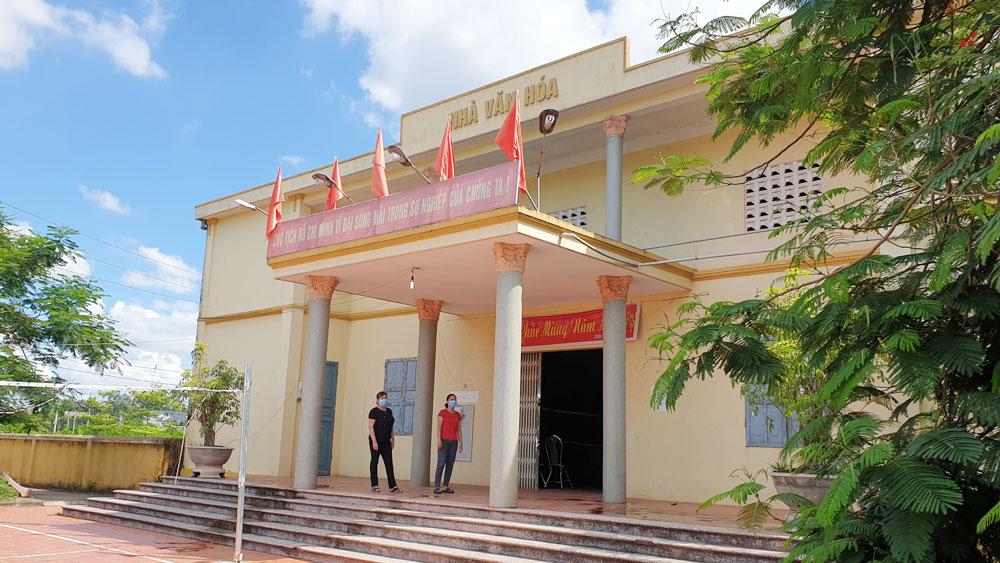 Bắc Giang,  nhà văn hóa, sân thể thao, đồng thuận