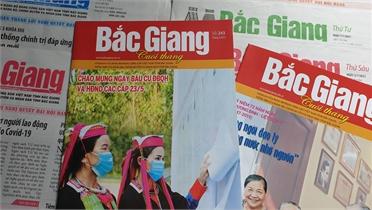Thêm hơn 7,4 nghìn người được cấp phát báo Bắc Giang