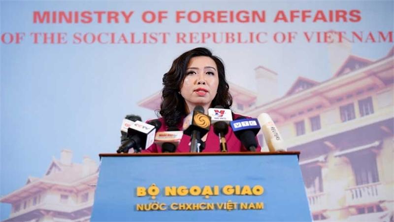 Người phát ngôn Bộ Ngoại giao trả lời dịp kỷ niệm Tòa Trọng tài vụ kiện Biển Đông ra phán quyết
