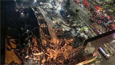 Sập một khách sạn ở miền Đông Trung Quốc, nhiều người thiệt mạng và mất tích