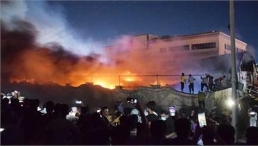 Nổ bình ôxy ở bệnh viện Iraq, 58 người chết
