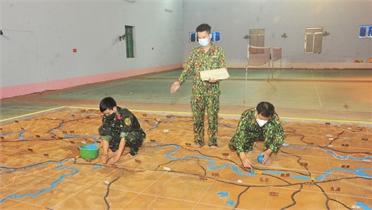 Luyện tập chỉ huy - cơ quan 1 bên 2 cấp: Huy động tổng lực, chuẩn bị chu đáo