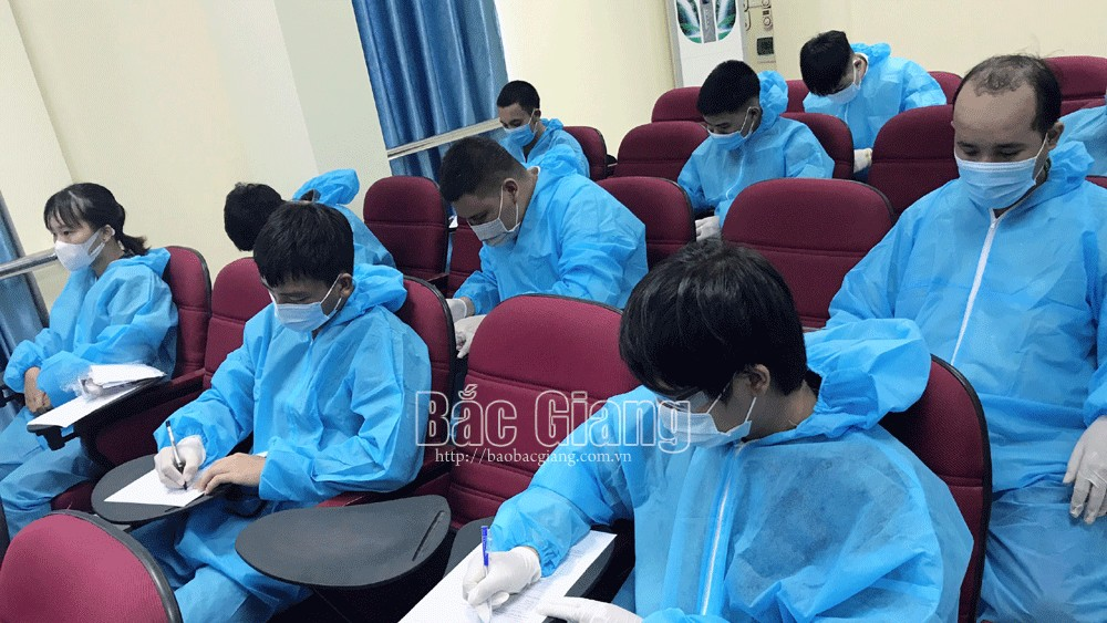 Many businesses in Bac Giang province offer attractive policies to call back labourers