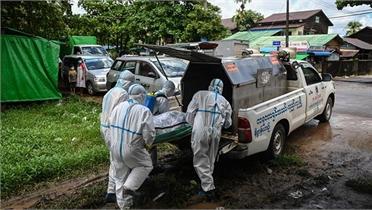 Diễn biến dịch Covid-19: Số ca tử vong ở Nga cao kỷ lục