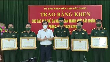 Các đoàn công tác quân đội hoàn thành hỗ trợ Bắc Giang phòng, chống dịch