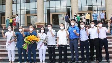 59 nhân viên y tế Bắc Giang xung phong vào miền Nam chống dịch