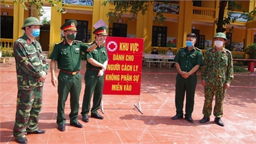 Kinh nghiệm trong phòng, chống dịch của LLVT tỉnh Bắc Giang