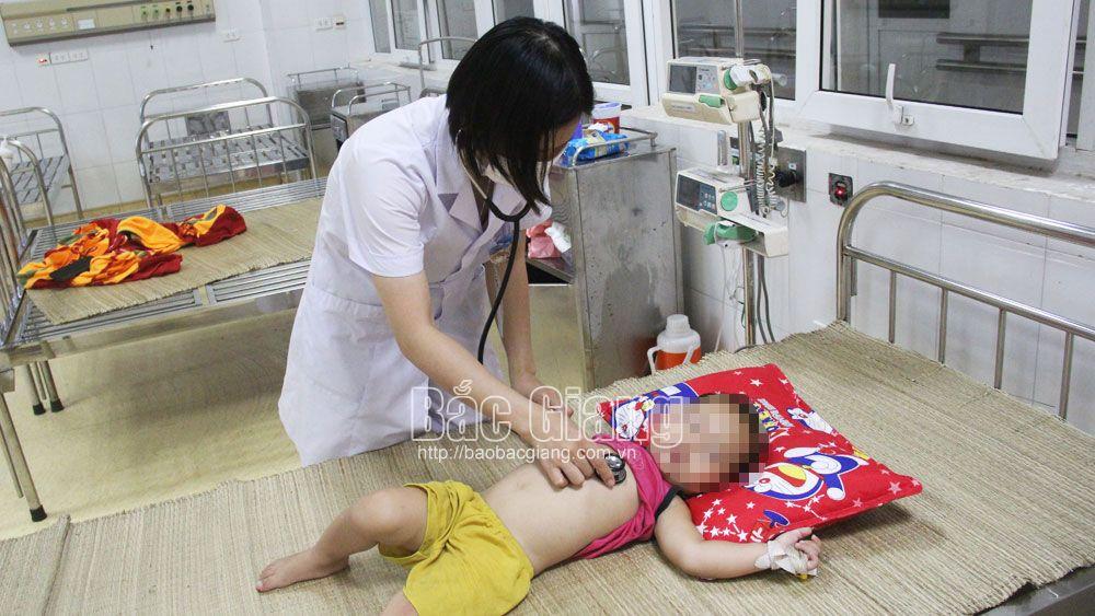 cấp cứu, ngộ độc, hóa chất, bệnh nhi,  bệnh viện, Bắc Giang