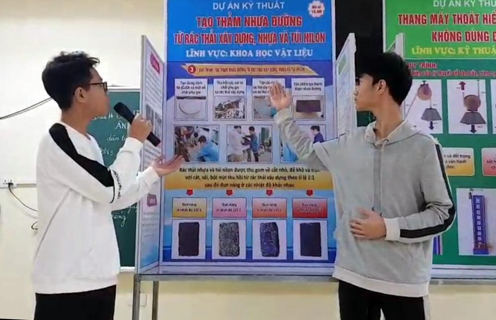 nghiên cứu khoa học, sáng tạo, thiết thực, thanh thiếu niên TP Bắc Giang, Cuộc thi Sáng tạo thanh thiếu niên
