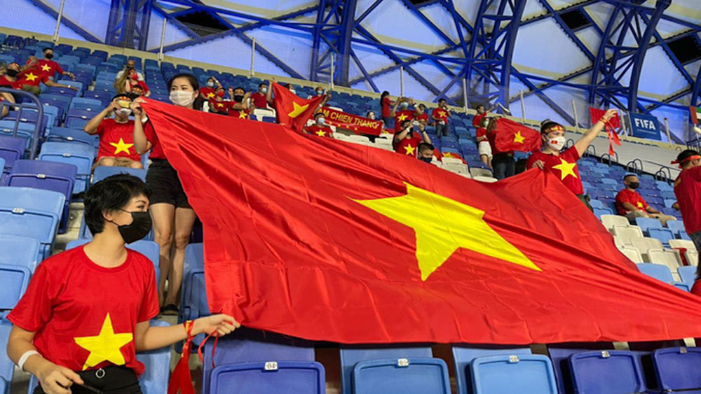 Vaccinated fans, Vietnam, World Cup qualifiers, Covid-19 vaccination, qualifying round, normal condition