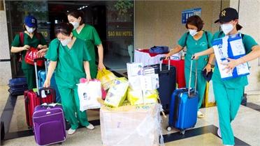 Một số hoạt động của đoàn y, bác sĩ tình nguyện Bắc Giang tại tỉnh Đồng Tháp
