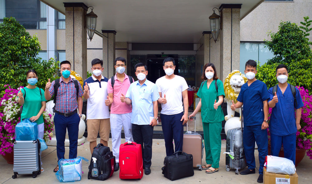 tình nguyện, bệnh nhân, phòng dịch, covid-19, Bắc Giang, Đồng Tháp