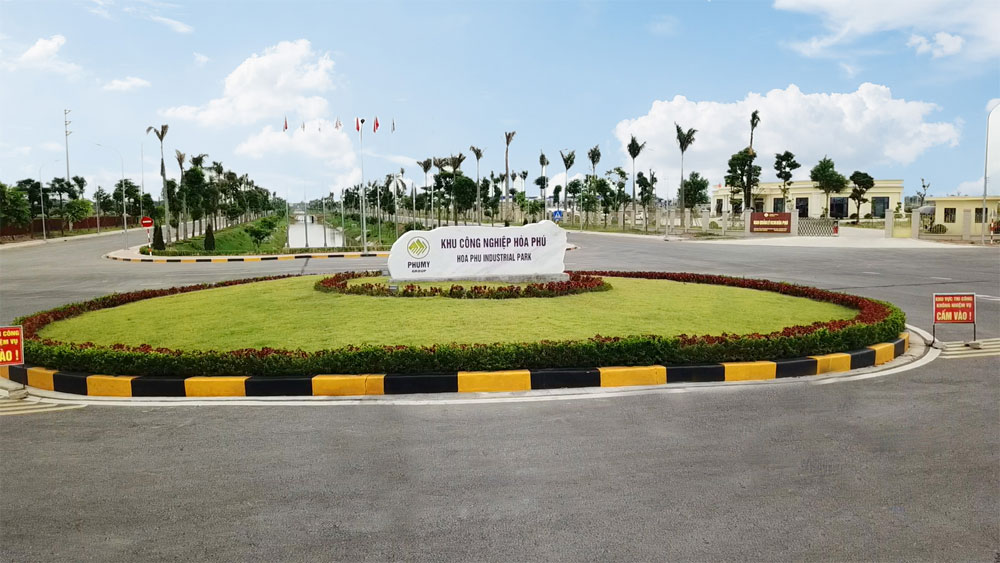 Hoa Phu industrial park, expanded up, more 85 ha, Bac Giang province, Land use plan, additional land use, infrastructure construction