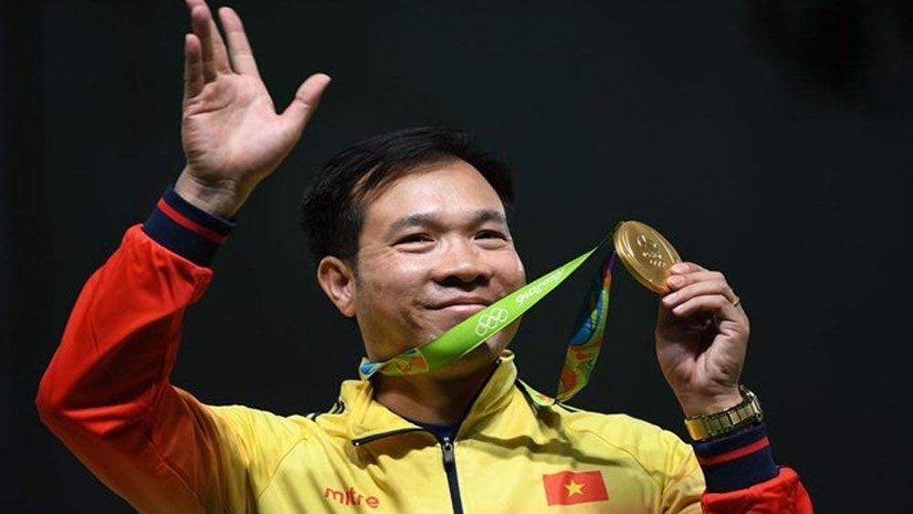 Vietnamese athletes, VND1.85 billion, Tokyo Olympic gold, gold medal win, Vietnamese Olympic medallists