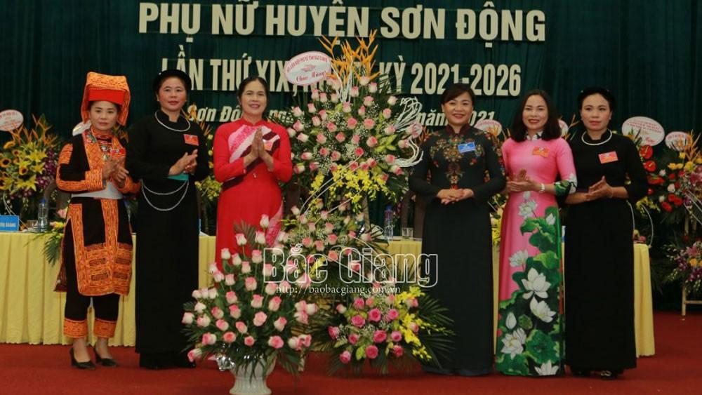 phụ nữ; đại hội; Sơn Động; Bắc Giang