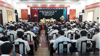 HĐND huyện Yên Thế khóa XXII tổ chức kỳ họp thứ Hai