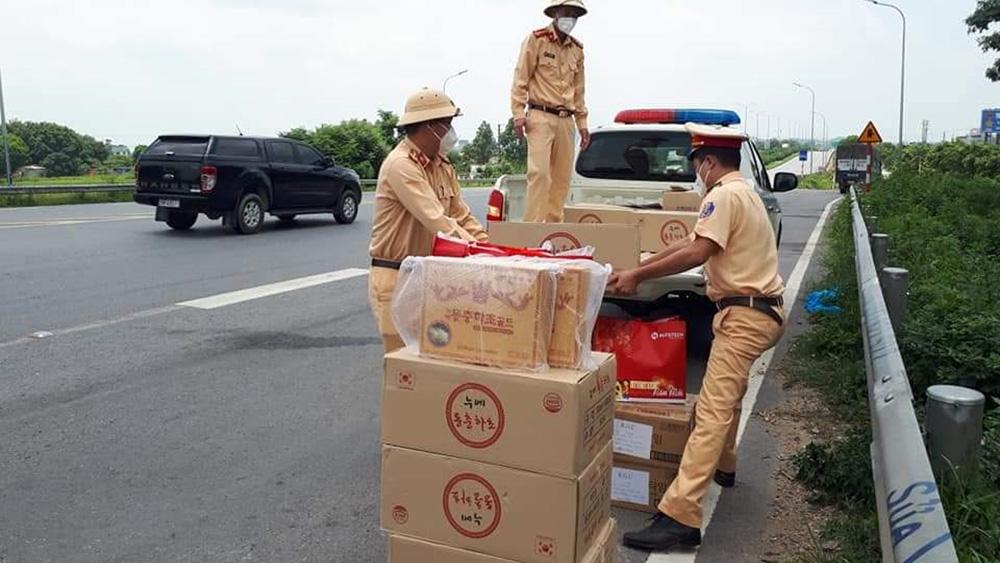 Phòng Cảnh sát giao thông, Cảnh sát giao thông, Bắc Giang,