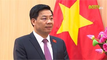 Phỏng vấn đồng chí Dương Văn Thái, Bí thư Tỉnh ủy, Trưởng Đoàn ĐBQH tỉnh Bắc Giang