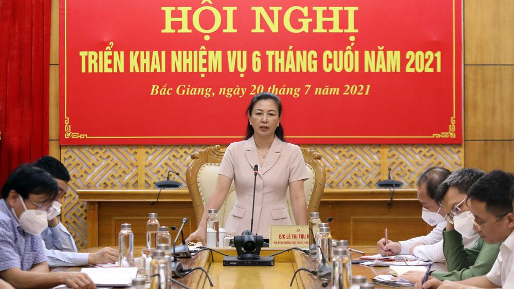 Bắc Giang, BCĐ 35, bảo vệ, nền tảng tư tưởng của Đảng