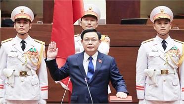 Đồng chí Vương Đình Huệ trúng cử Chủ tịch QH khóa XV