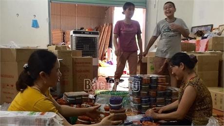 Bắc Giang: Xuất khẩu 3 tấn mỳ Chũ sang Đài Loan